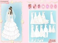 Pretty Bride Dress up game