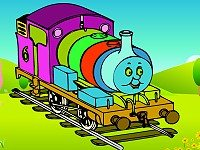 Coloring Thomas